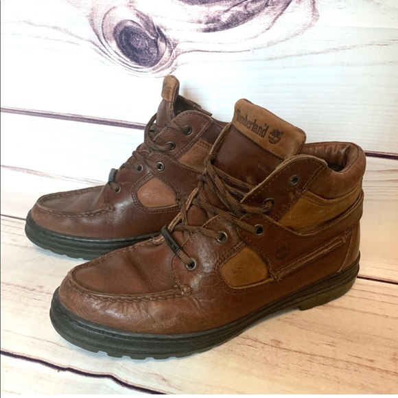 14fcea0e916 Timberland Goretex Leather Chukka Hiking Boots 7.5